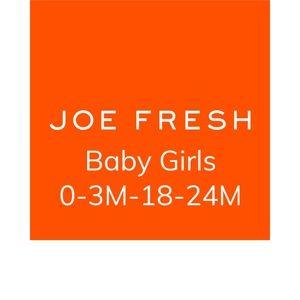 Brand New Joe Fresh Baby Clothing